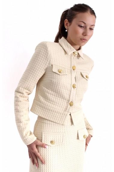 Costum Novak Couture Fem Armour Crem