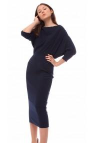 Rochie Novak Couture Dark Sapphire Bleumarin