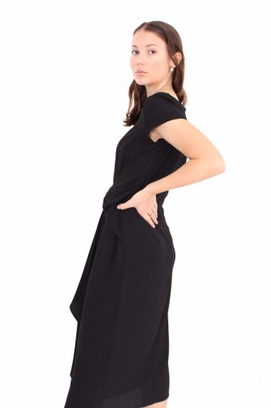 Rochie Novak Couture Noir Orchid�e Negru