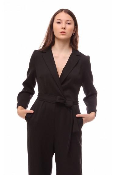 Salopeta Novak Couture Noir EXT Neagra