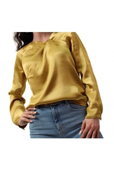 Bluza Lauren galben auriu