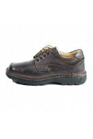 Pantofi barbati din piele naturala 345 maro
