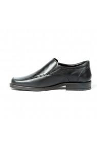 Pantofi barbati eleganti din piele naturala cu elastic cod 311