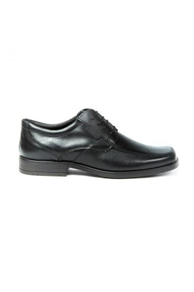 Pantofi barbati eleganti din piele naturala cu siret cod 310