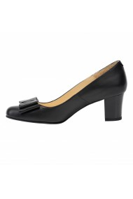Pantofi dama din piele naturala 418 negru