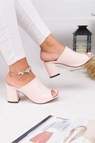 Sandale cu toc Awon 5318PDR Roz - els