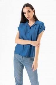 Bluza By Saygi S-20Y2220021 albastru
