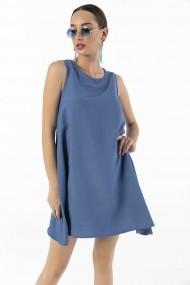 Rochie By Saygi S-20Y2800025 albastru