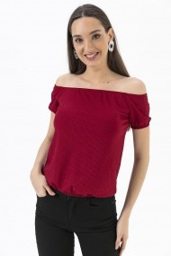Bluza By Saygi S-20Y3850013 bordo