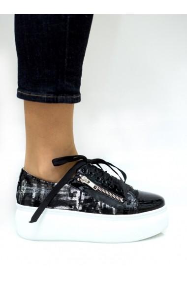 Pantofi sport Thea Visconti P-146/19-Celeste Print