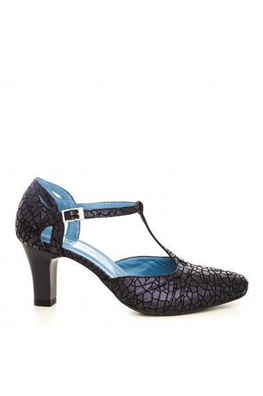 Pantofi cu toc CONDUR by alexandru p881 bleumarin t28