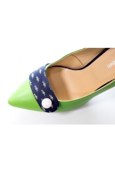 Pantofi cu toc Thea Visconti P-102/19/613 multicolor