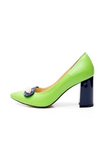 ce66e7b9b3 Thea Visconti · Magassarkú cipő P-102/19/613 Színes