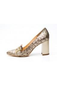 Pantofi cu toc Thea Visconti P-112/19/177 auriu