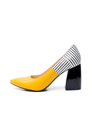 Pantofi cu toc Thea Visconti P-114/19/613 multicolor