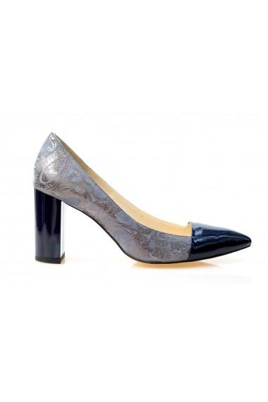 Pantofi cu toc Thea Visconti P 136-18-1253 albastru