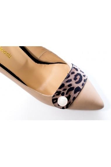 Pantofi cu toc Thea Visconti P-136/10/613 bej