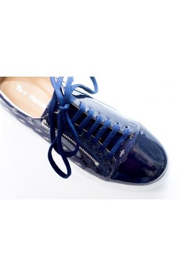 Pantofi sport Thea Visconti P-147/19-Celeste bleumarin