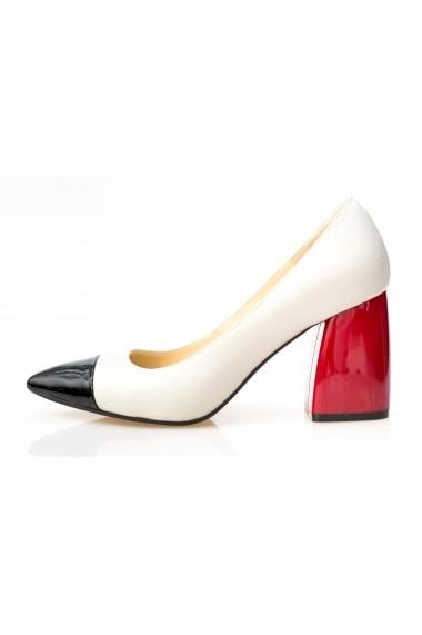 Pantofi cu toc Thea Visconti P 199-18-613 multicolor