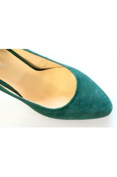 Pantofi Thea Visconti P 623-17-1134 verde