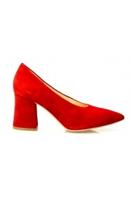 Pantofi eleganti Thea Visconti P 650-17-1253 rosu