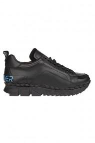 Pantofi barbati Premier Collezione piele naturala negru