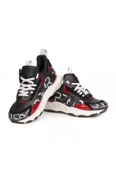 Pantofi sport barbati Premier Collezione piele naturala multicolor