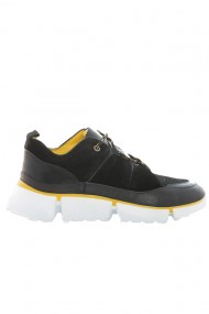 Pantofi barbati Faruk Sagin Black Cory piele naturala negru