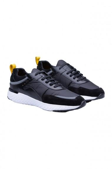 Pantofi barbati Faruk Sagin Black Gloom negru