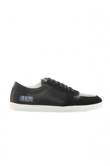 Pantofi sport barbati Faruk Sagin Black Pall piele naturala negru