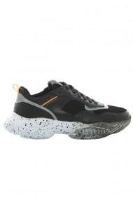 Pantofi barbati Faruk Sagin Black Voudin piele naturala negru