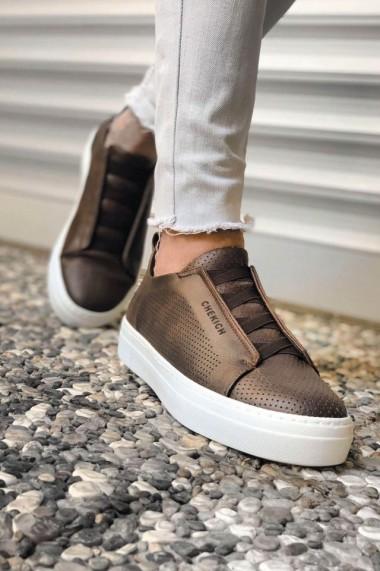 Pantofi barbati Chekich CH011 piele ecologicaaro