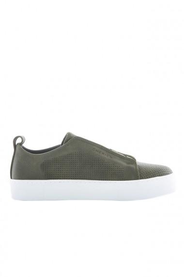 Pantofi barbati Chekich CH011 piele ecologica kaki