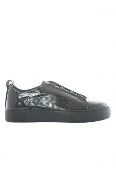 Pantofi barbati Chekich CH011 piele ecologica negru