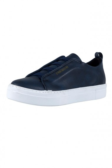 Pantofi barbati Chekich CH013 piele ecologica bleumarin