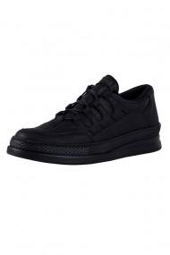 Pantofi barbati Chekich CH040 piele ecologica negru