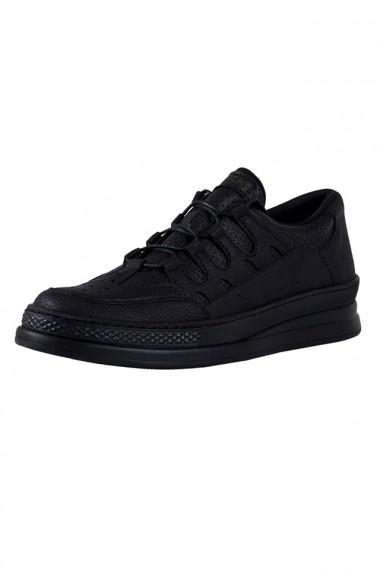 Pantofi sport barbati Chekich CH040 piele ecologica negru