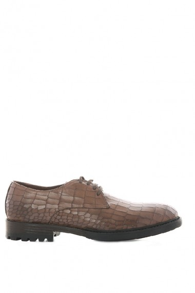 Pantofi barbati Faruk Sagin Coffee Crush piele naturalaaro