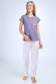 Pijama Maranda cu pantaloni lungi multicolor