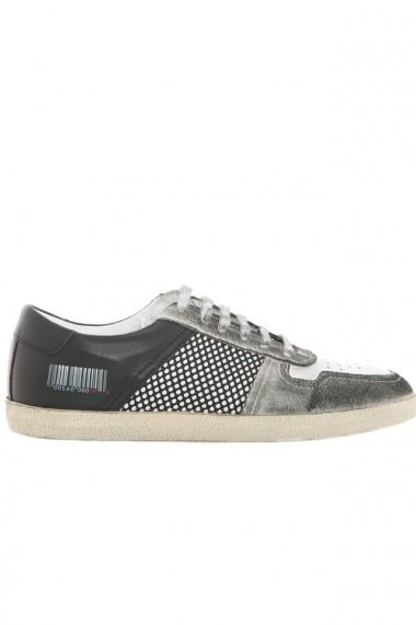 Pantofi sport barbati Faruk Sagin Smoke Pall piele naturala gri