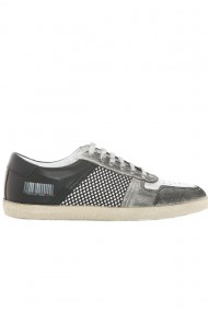 Pantofi barbati Faruk Sagin Smoke Pall piele naturala gri