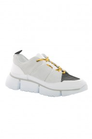 Pantofi barbati Faruk Sagin White Cory piele naturala alb