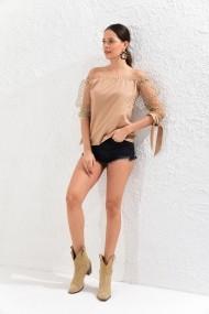 Bluza Cool & Sexy SF11373 camel