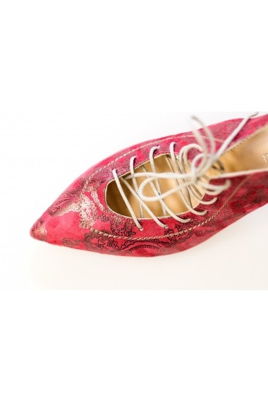 Pantofi Thea Visconti PS 163-18-1253 grena