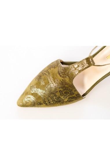 Pantofi PS 184-18-1088 Thea Visconti kaki