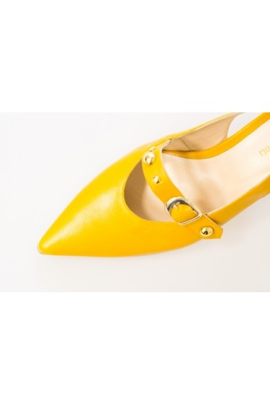 421175886b Thea Visconti Magassarkú cipő PS 187-18-1088 Mustársárga - FashionUP!