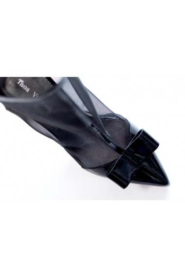 Pantofi cu toc Thea Visconti PS-278/19/949 negru