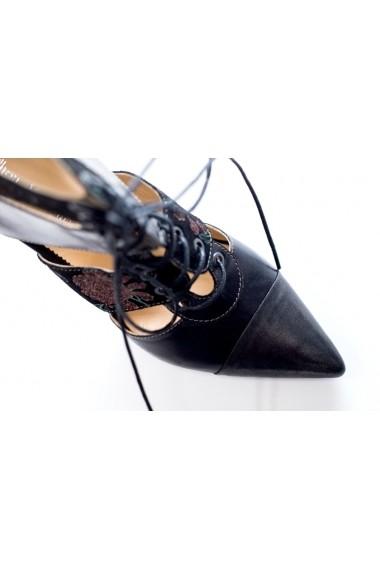Pantofi cu toc Thea Visconti PS-279/19/1172 negru