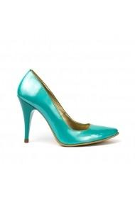Pantofi dama stiletto  Turquoise