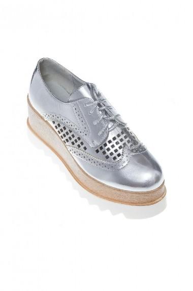 Pantofi Rammi RMM-239-argento Argintiu